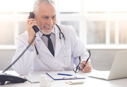 Telefondolmetschen Medizin